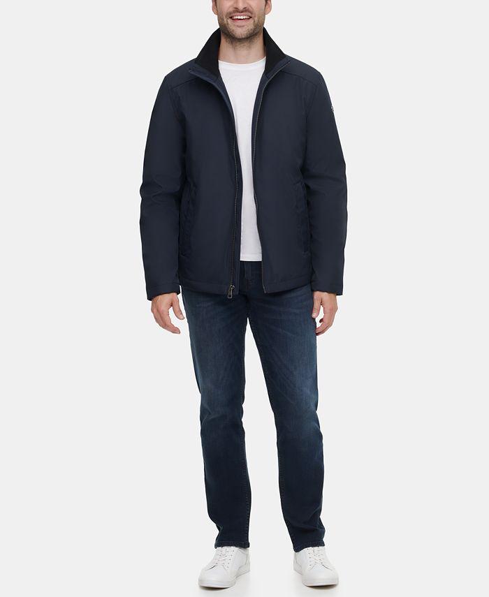 Calvin Klein - Men's Full-Zip Stand-Collar Jacket
