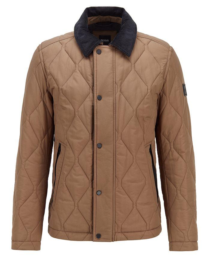 Hugo Boss - Men's Ocrunck Slim-Fit Jacket