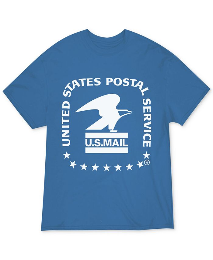 Hybrid - Juniors USPS Graphic Print Cotton T-Shirt
