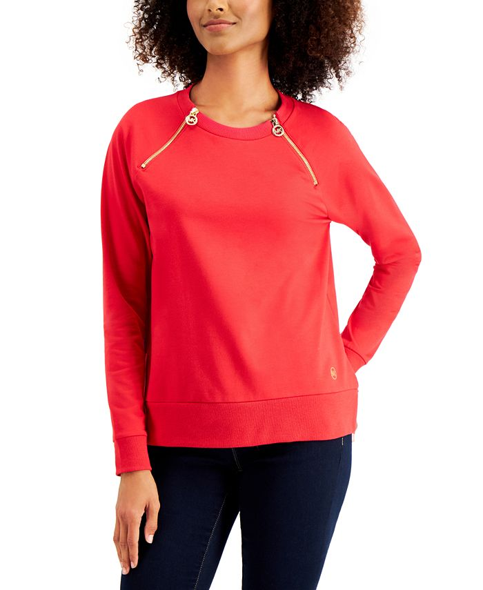 Michael Kors - Zipper-Trim Top