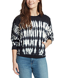 WILLIAM RAST Meaghan Cotton Tie-Dyed Sweatshirt