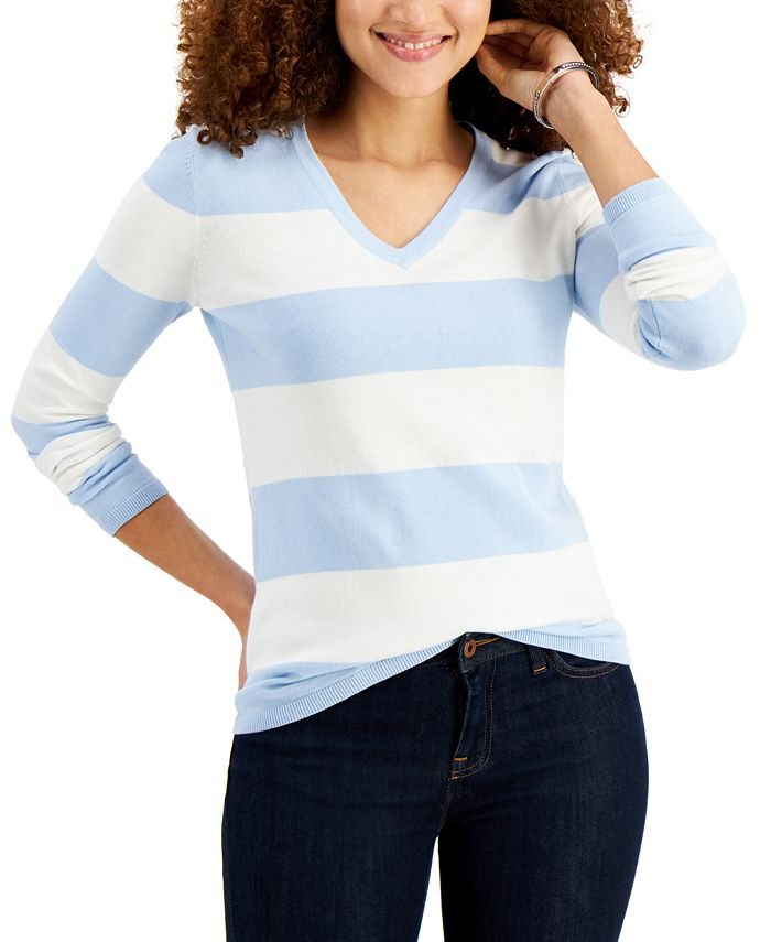 Tommy Hilfiger - Cotton Rugby-Stripe Sweater