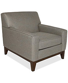 """Effie 35"""" Fabric Chair, Created for Macy's"""
