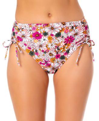 Juniors High Waist Hipster Bikini Bottoms, Created for Macy's