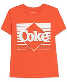 Love Tribe Juniors' Cotton Coke Graphic T-Shirt