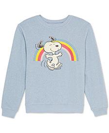Peanuts Juniors Graphic Print Snoopy Sweatshirt