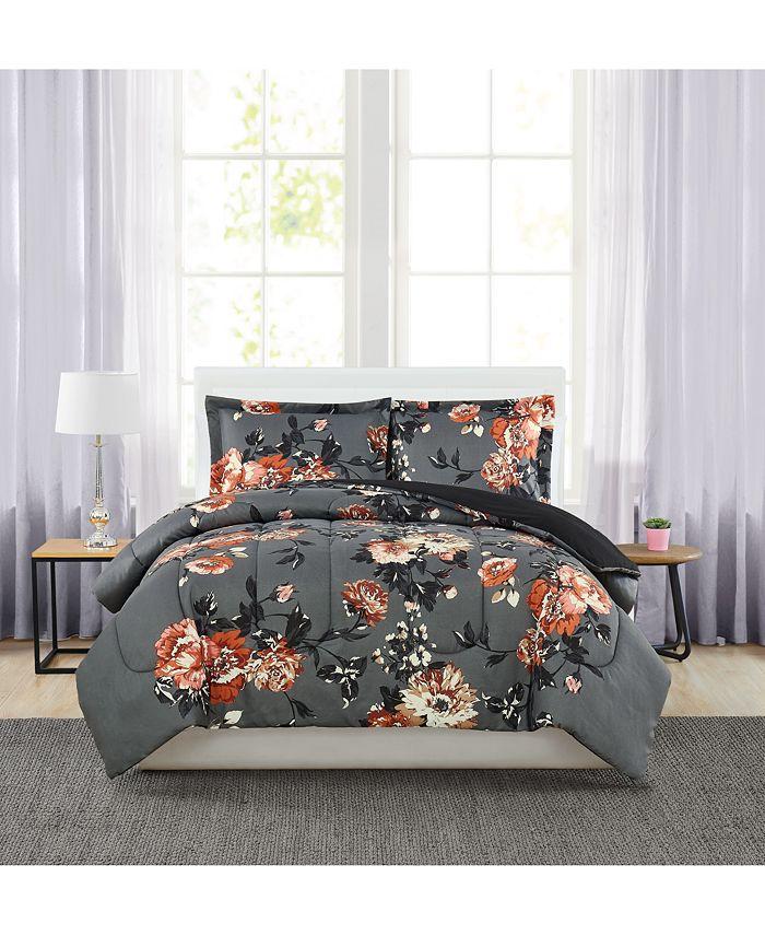 Pem America - Manilla Floral 3-Pc. Comforter Set
