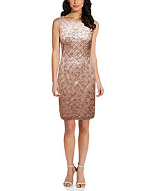Adrianna Papell Embellished Sheath Dress