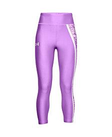 Under Armour Big Girls Armour Heat Gear Novelty Crop Pants