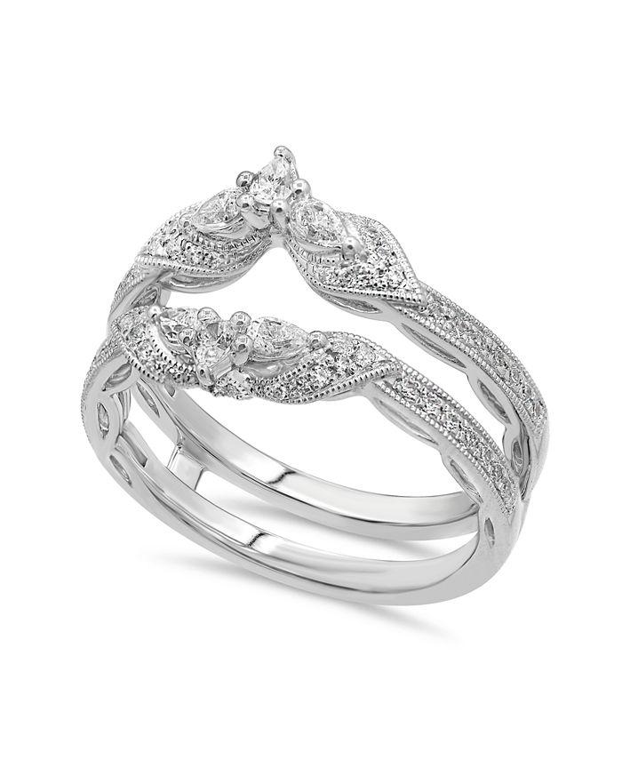 Macy's - Diamond Enhancer Ring Guard (5/8 ct. tw.) in 14K Gold