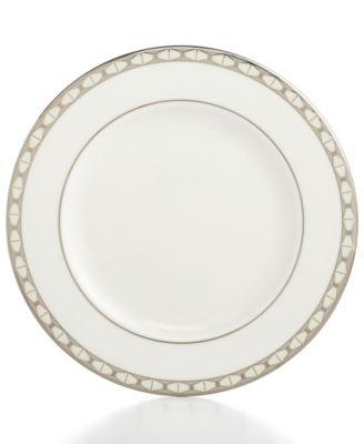 kate spade new york, Signature Spade Salad Plate