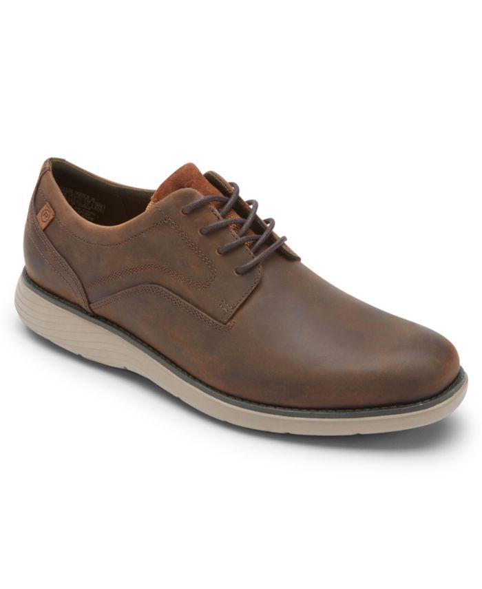 Rockport Men's Garett Plain Toe Casual Shoes & Reviews - All Men's Shoes - Men - Macy's