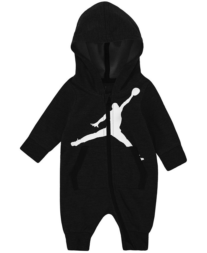 Jordan - Baby Boys Full-Zip Hooded Coverall