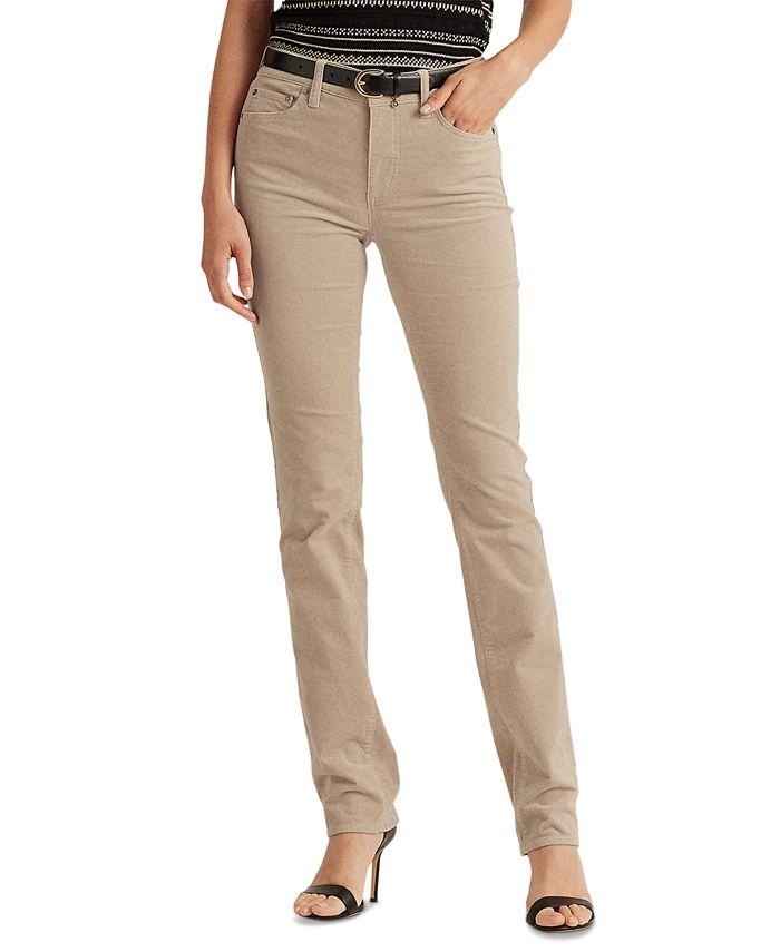 Lauren Ralph Lauren - Premier Straight Corduroy Jeans