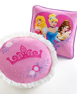 Decorative Princess Pillows : CLOSEOUT! Disney Princess Timeless Elegance Decorative Pillow Pack - Decorative Pillows - Bed ...