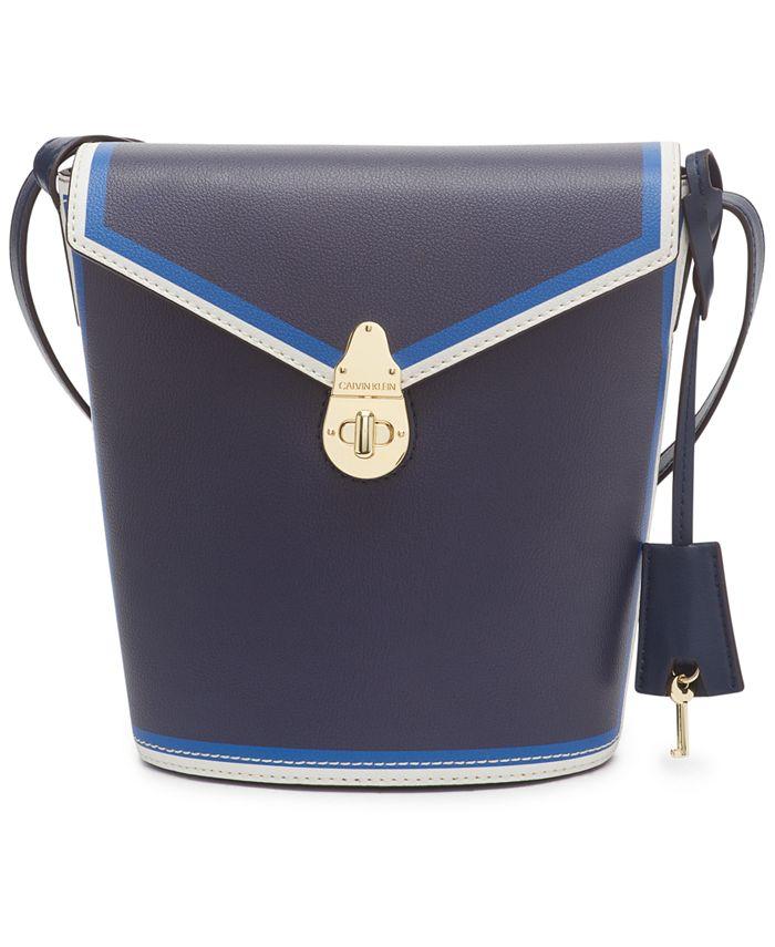 Calvin Klein - Lock Leather Bucket Bag