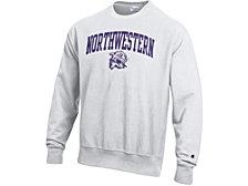 Champion Northwestern Wildcats Men's Vault Reverse Weave Sweatshirt