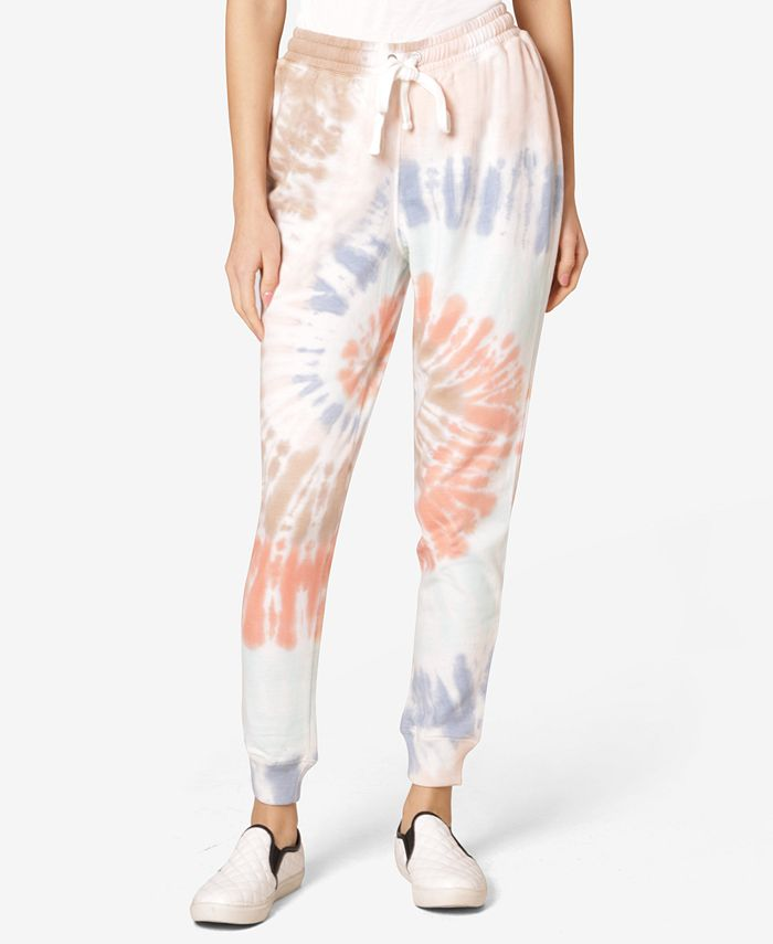Ultra Flirt - Juniors' Tie-Dyed Sweatpants
