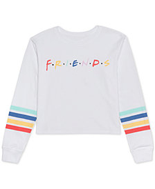 Warner Brothers Juniors' Friends Graphic Top