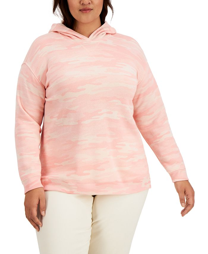 Style & Co - Plus Size Camouflage Hoodie
