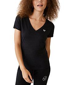 True Religion Cotton Logo-Print T-Shirt