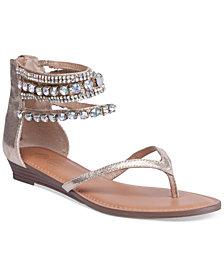 Thalia Sodi Irina Bling Flat Sandals, Created for Macy's