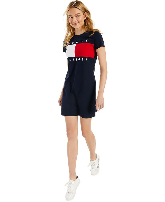 Tommy Hilfiger - Logo T-Shirt Dress