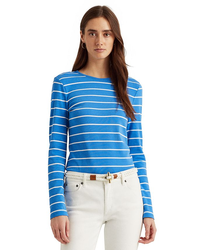 Lauren Ralph Lauren - Striped Long Sleeve Top