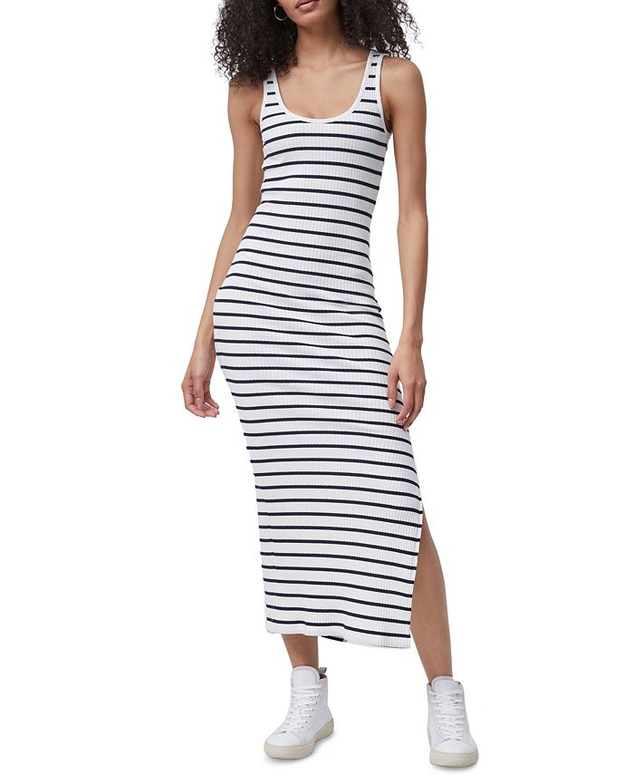French Connection - Tommy Ribbed Bodycon Maxi Tank Dress