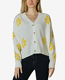 Polly & Esther Juniors' Daisy Button-Front Cardigan