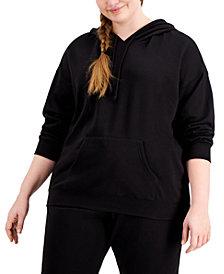 Rebellious One Trendy Plus Size Fleece Hoodie