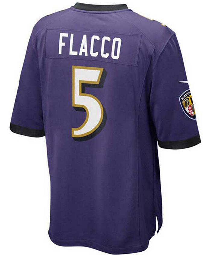 Nike Kids' Joe Flacco Baltimore Ravens Game Jersey, Big Boys (8-20 ...
