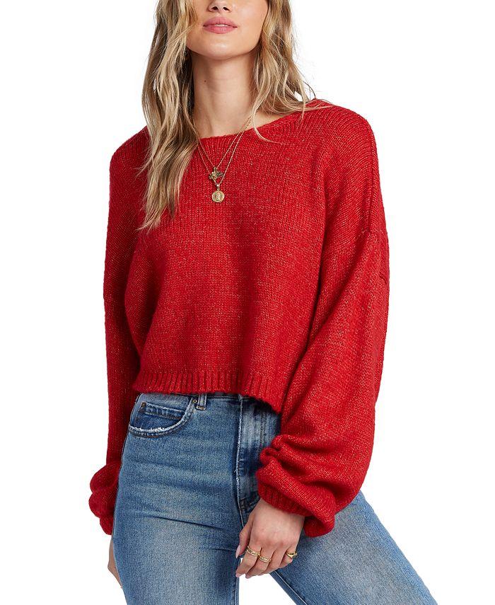 Billabong - Juniors' Heart to Heart V-Back Sweater