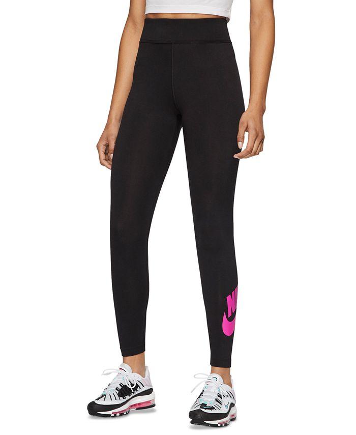 Nike - Sportswear Logo High-Waist Leggings