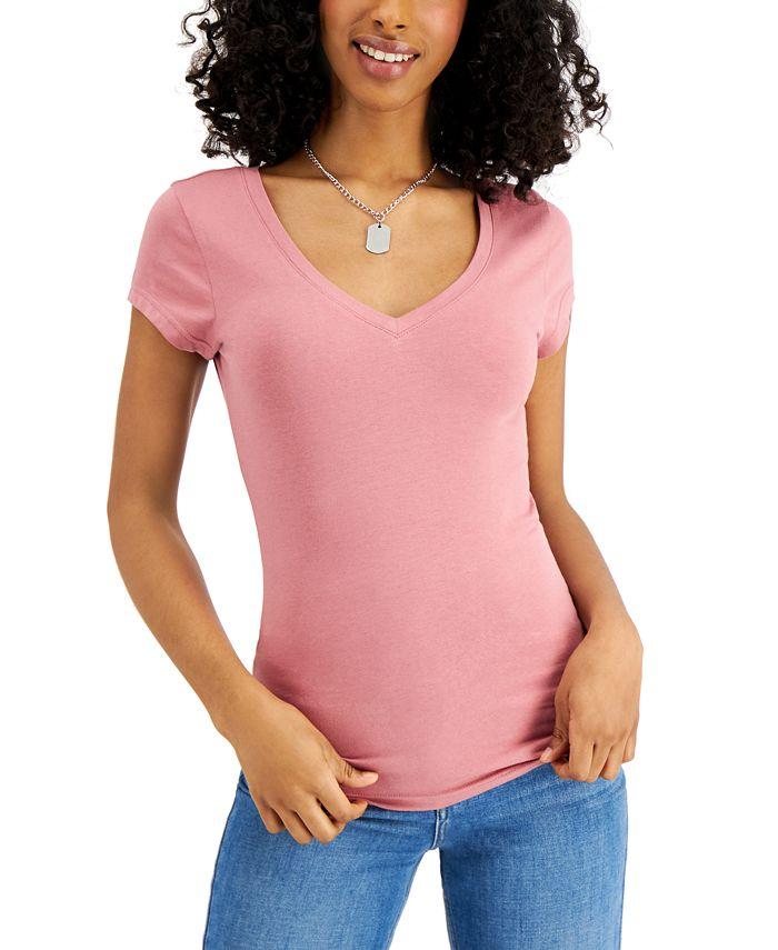 Aveto - Juniors' V-Neck T-Shirt