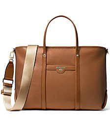 Michael Michael Kors Beck Leather Convertible Tote