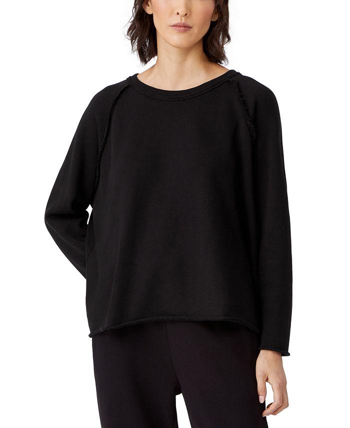 Eileen Fisher - Organic Cotton Drop-Shoulder Top