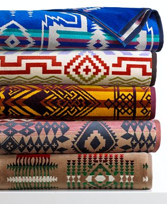 Pendleton spa towel collection bath towels bed bath for Home spa brand towels