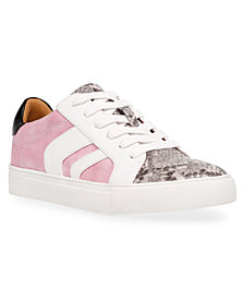 DV Dolce Vita Aldy Lace-Up Chevron Sneakers