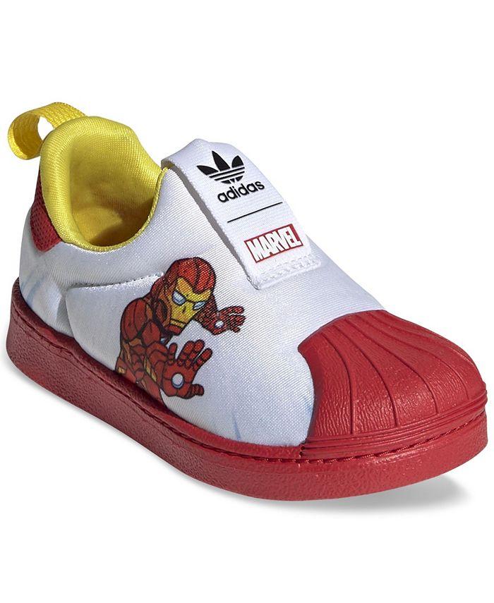 Toddler Boys Superstar 360 Slip-On Marvel Iron Man Sneakers from Finish Line
