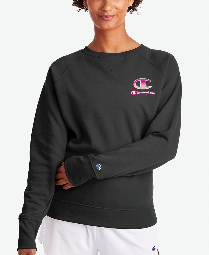 Champion - Powerblend Fleece Logo Sweatshirt
