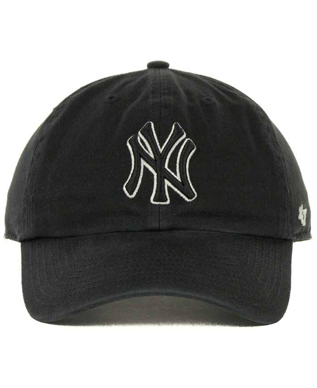 '47 Brand New York Yankees Clean Up Hat & Reviews - Sports Fan Shop By Lids - Men - Macy's