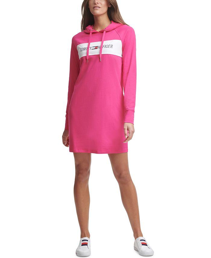 Tommy Hilfiger - Logo Hoodie Dress
