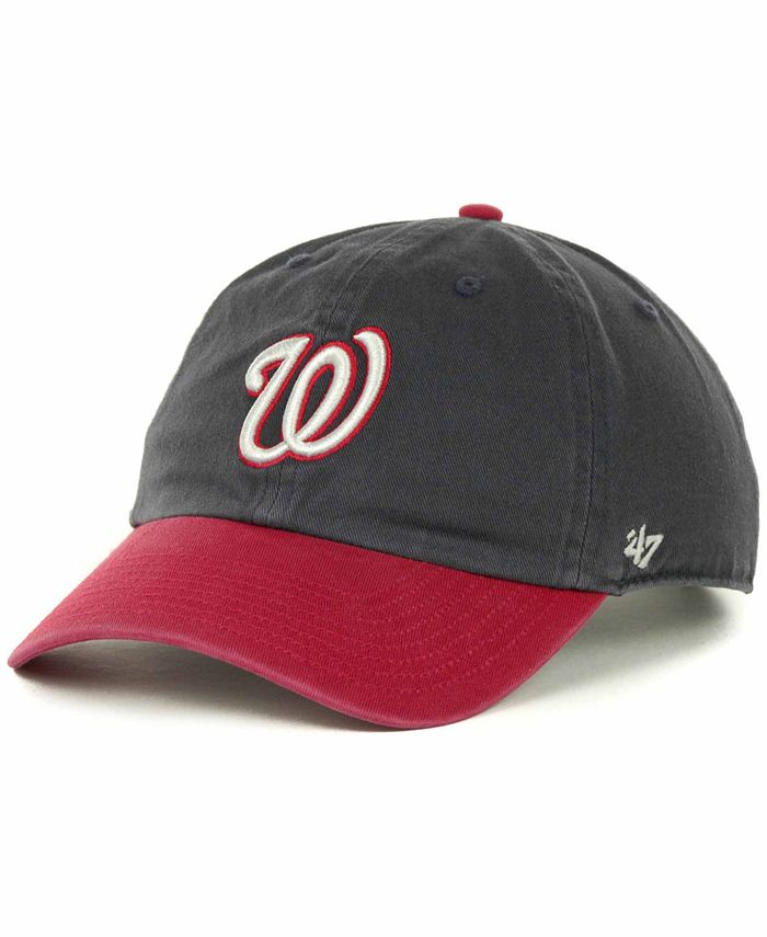'47 Brand - Washington Nationals Clean Up Hat
