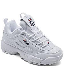 Fila Little Kids Disruptor II Casual Sneakers from Finish Line
