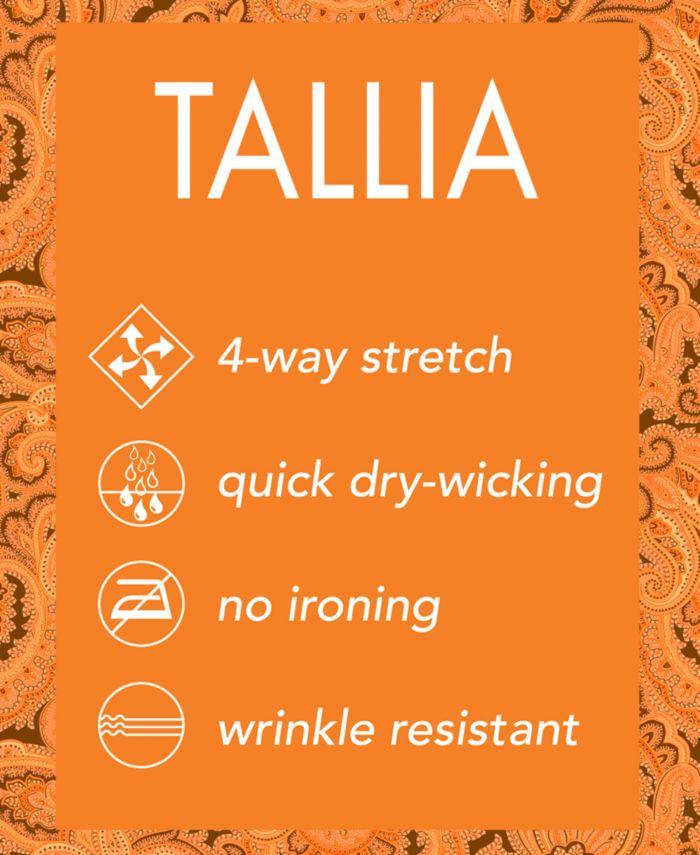 Tallia Mens SlimFit Performance Stretch Navy Blue StarPrint | 47% off &  Cash Back