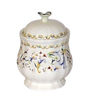 Gien Toscana Covered Sugar Bowl