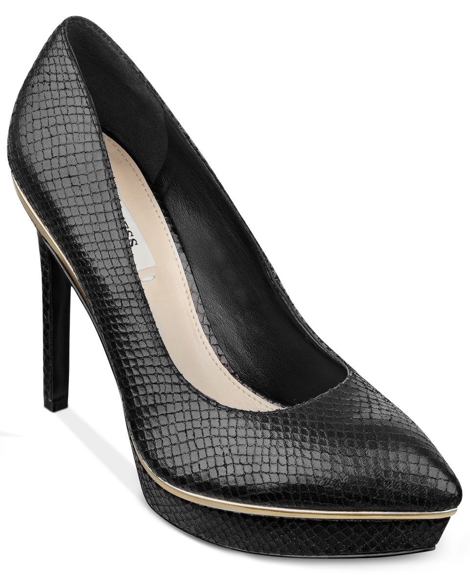 dc30db3a302 Calvin Klein Womens Kendall Platform Pumps Shoes on PopScreen