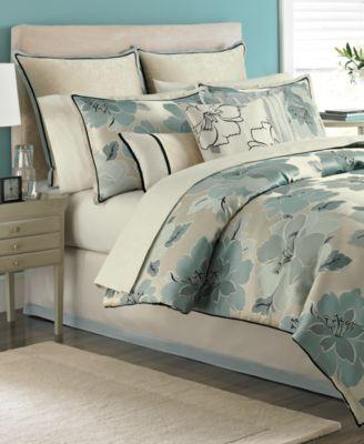 CLOSEOUT!Martha Stewart Collection Garden Retreat 9 Piece Queen Comforter Set
