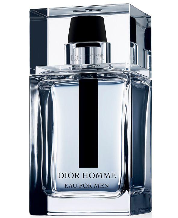 Dior Eau for Men Eau de Toilette Spray, 3.4 oz.